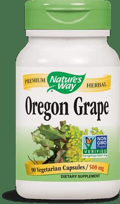 Nature's Way オレゴン グレープ ルート 500 mg 90 ベジカプセル