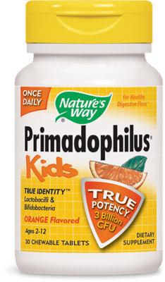 Nature's Way 子供用 プリマドフィルス オレンジ味 30チュアブル錠