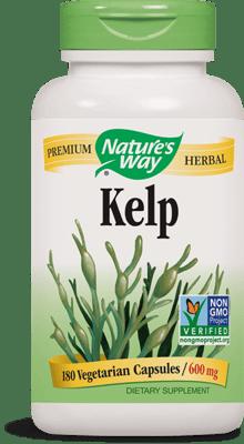 Nature's Way ケルプ(昆布)600 mg 180ベジカプセル