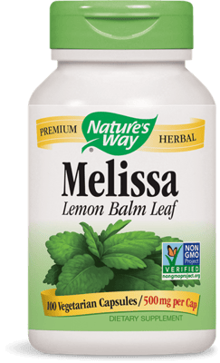 Nature's Way Melissa 500 mg 100ベジカプセル