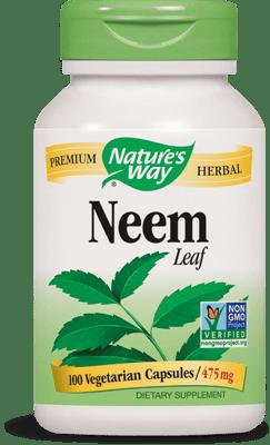 Nature's Way ニーム リーフ 475 mg 100 ベジカプセル