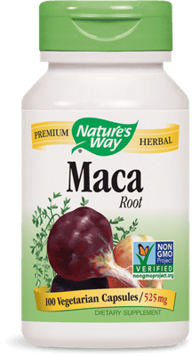 Nature's Way マカ ルート 525 mg 100 ベジカプセル