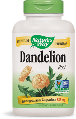 Nature's Way ダンディライオン ルート 525 mg 180ベジカプセル