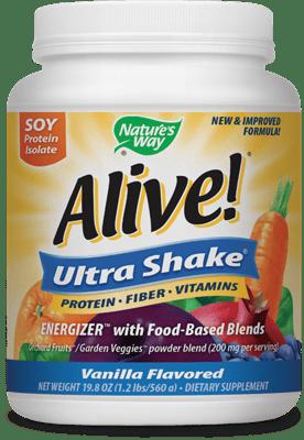 Nature's Way Alive! ウルトラシェイク バニラ味 560 g