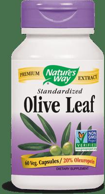 Nature's Way オリーブリーフスタンダード 250 mg 60ベジカプセル