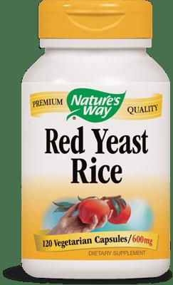 Nature's Way レッドイーストライス 600 mg 120ベジカプセル
