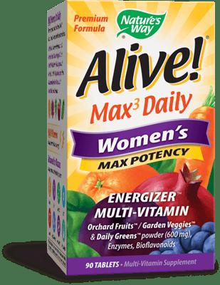 Nature's Way アライブ! マルチビタミン マックスポテンシー 女性用 90 錠
