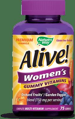 Nature's Way Alive! 女性用グミ マルチビタミン 75グミ