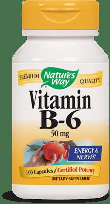 Nature's Way ビタミンB6 100 mg 100カプセル