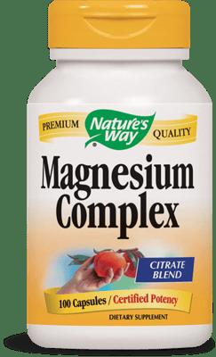 Nature's Way マグネシウムコンプレックス 500 mg 100カプセル