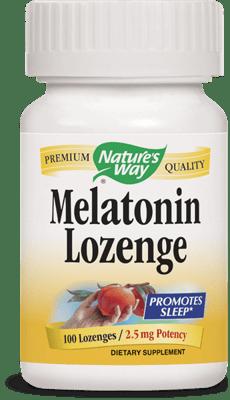 Nature's Way メラトニンメラトニントローチ 2.5 mg 100カプセル