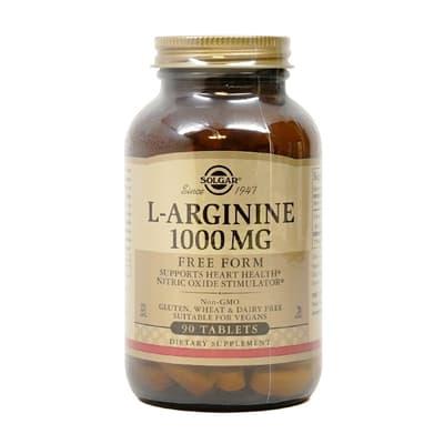 Solgar L-アルギニン 1,000 mg 90錠
