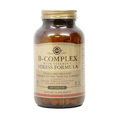 Solgar ビタミンCとのB複合体 250錠