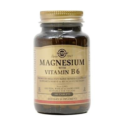 Solgar  マグネシウムとビタミン B6 100錠