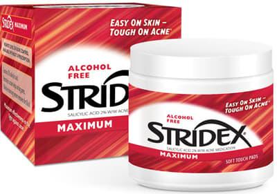 Stridex 1ステップ アクネコントロール メディケイティッドパッド マキシマム 90 ソフトタッチパッド