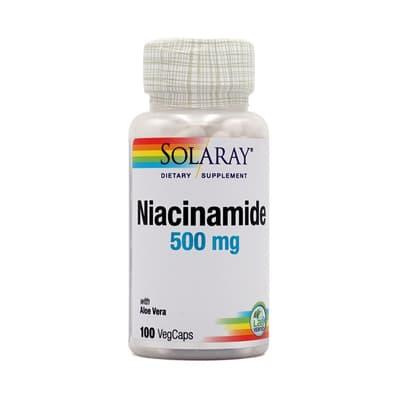 SOLARAY ナイアシンアミド 500 mg 100 カプセル