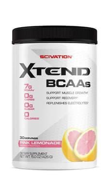 Scivation Xtend BCAAs ピンクレモネード 30サービング426 g