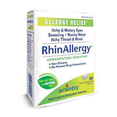 Boiron リンアレルギー 60錠