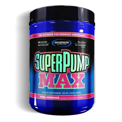 Gaspari Nutrition Superpump MAX Pink Lemonade 1.41 lb