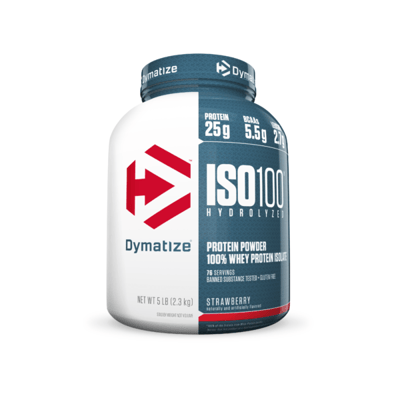 Dymatize Iso-100ストロベリー 2.3 kg