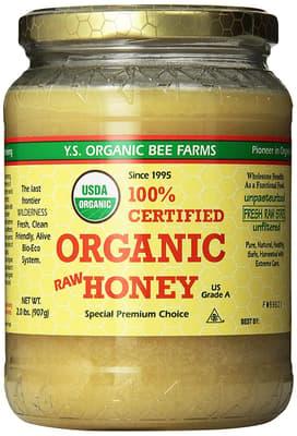 Y.s Eco Bee Farm オーガニックローハニー 907 g