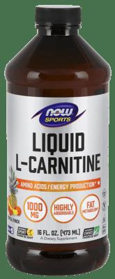 Now Foods 液状 L-カルニチントロピカル パンチ味 1,000 mg 473 ml
