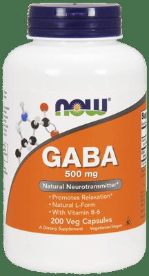 Now Foods ギャバ 500 mg 200ベジカプセル