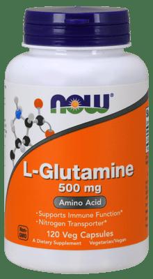 Now Foods Lグルタミン 500 mg 120ベジカプセル