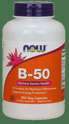 Now Foods ビタミンB-50 250 ベジカプセル