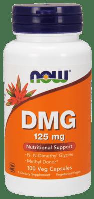 Now Foods DMG 125 mg 100 ベジカプセル
