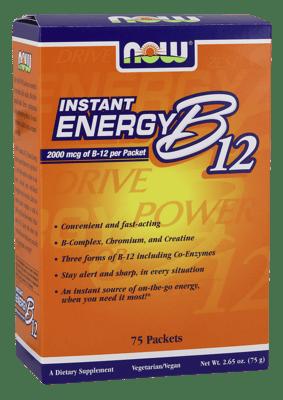 Now Foods インスタント エネルギー B12 75 パック