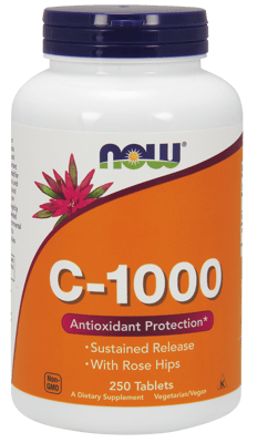 Now Foods C-1,000 ローズヒップ配合 250 錠