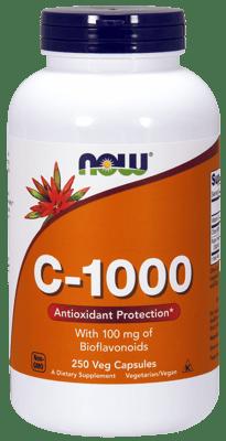 Now Foods ビタミンC-1000 & バイオフラボノイド 100 mg  250ベジカプセル