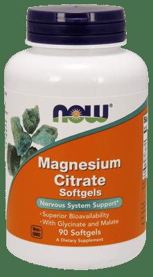 Now Foods クエン酸マグネシウム 90ソフトジェル