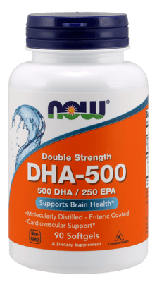 Now Foods DHA-500 90ソフトジェル