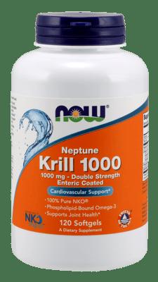 Now Foods ネプチューンクリル 1,000 mg 120ソフトジェル
