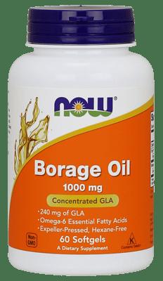 Now Foods ルリヂサ油 1,000 mg 60ソフトジェル