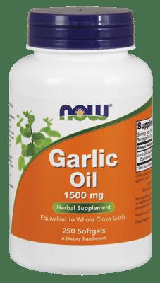 Now Foods ガーリックオイル 1,500 mg 250ソフトジェル