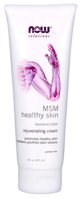 Now Foods MSM リポソームローション 237 ml