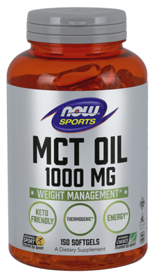 Now Foods MCTオイル 1,000 mg 150ソフトジェル