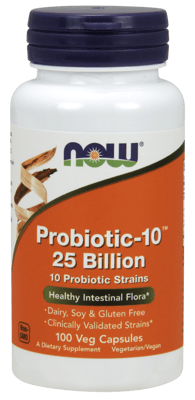 Now Foods プロバイオティクス-10  250億個 100ベジカプセル