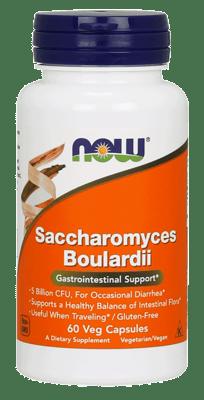 Now Foods サッカロマイセス ブラウディ  胃腸サポート 60ベジカプセル