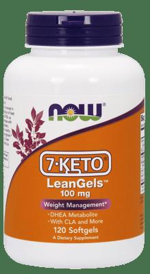 Now Foods  7ケトリーンジェル100 mg 120ソフトジェル