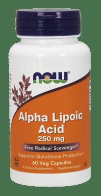 Now Foods アルファリポ酸 250 mg 60ベジカプセル