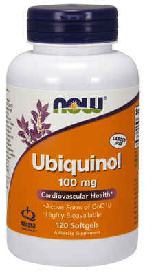 Now Foods ユビキノール 100 mg 120 ソフトジェル