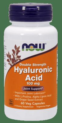 Now Foods ヒアルロン酸100 mg 60 ベジカプセル