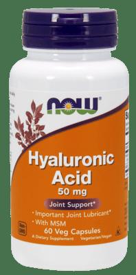 Now Foods ヒアルロン酸(MSM含有) 60ベジカプセル