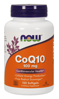 Now Foods コエンザイムCoQ10 100 mg 150ソフトジェル