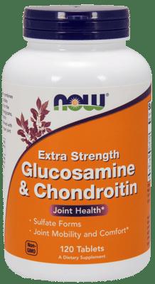 Now Foods グルコサミン&コンドロイチン エクストラストレングス 120錠