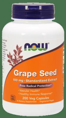 Now Foods ブドウの種 100 mg 200ベジカプセル